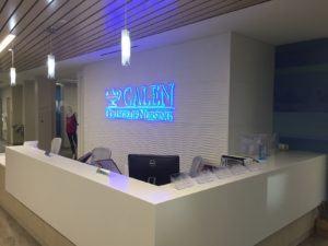 Reception Area -- Tampa Campus