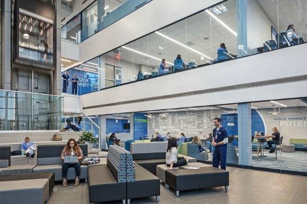 Lobby at Tampa campus