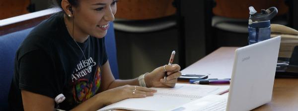 San Antonio campus student