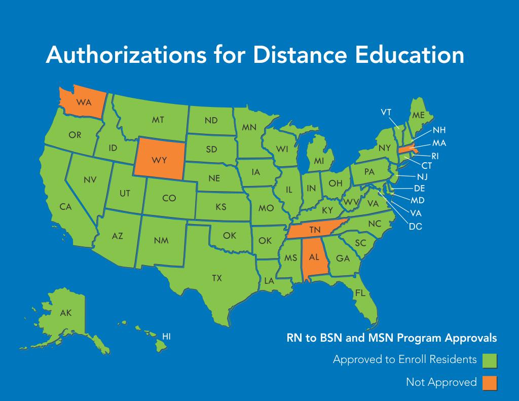 Online Campus Authorization for Distanc Education